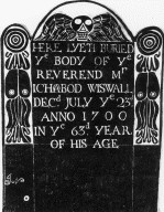 Wiswall, Rev. Ichabod