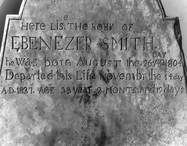 Smith, Ebenezer
