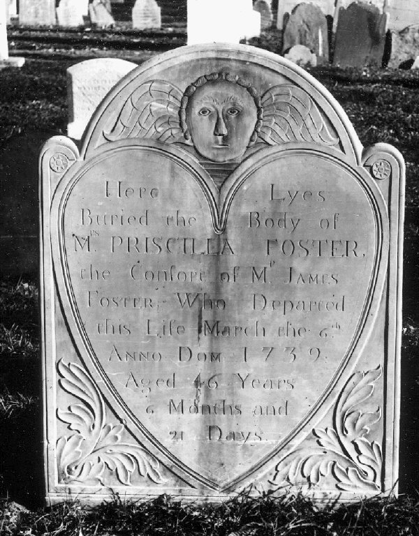 The mother of James II and Hopestill Foster.