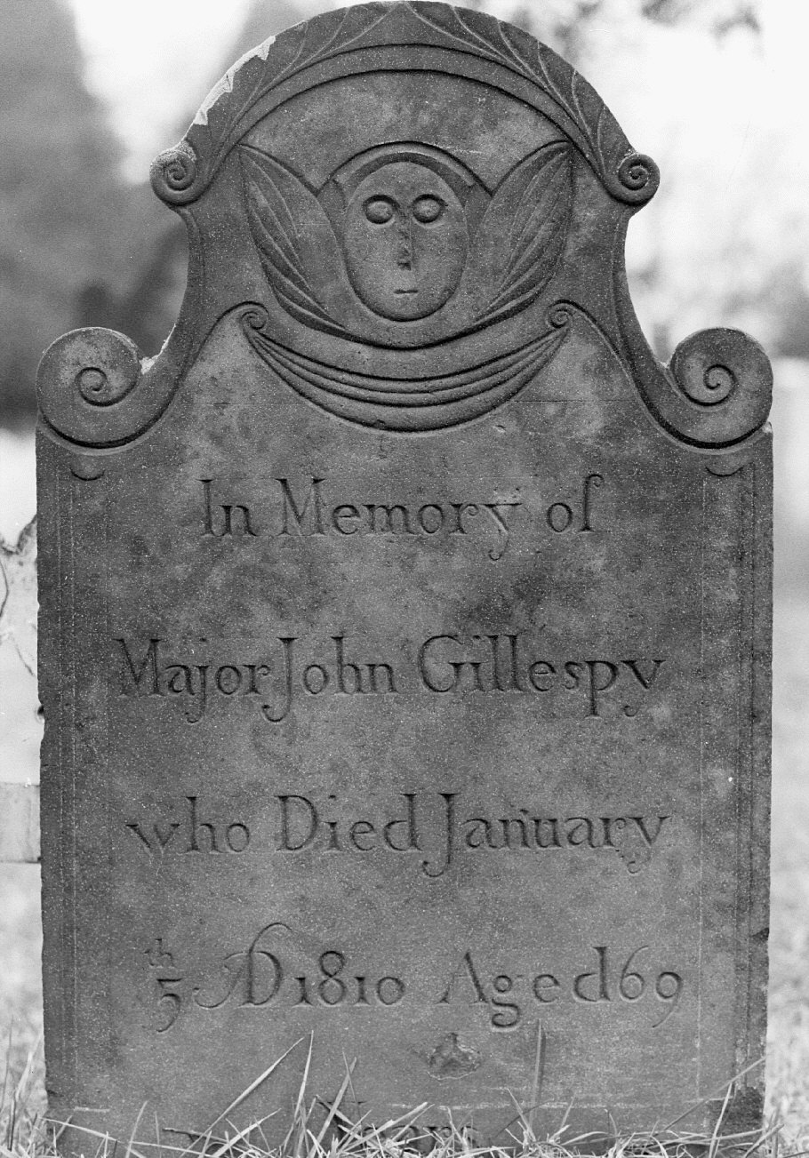 Gillespy, Major John