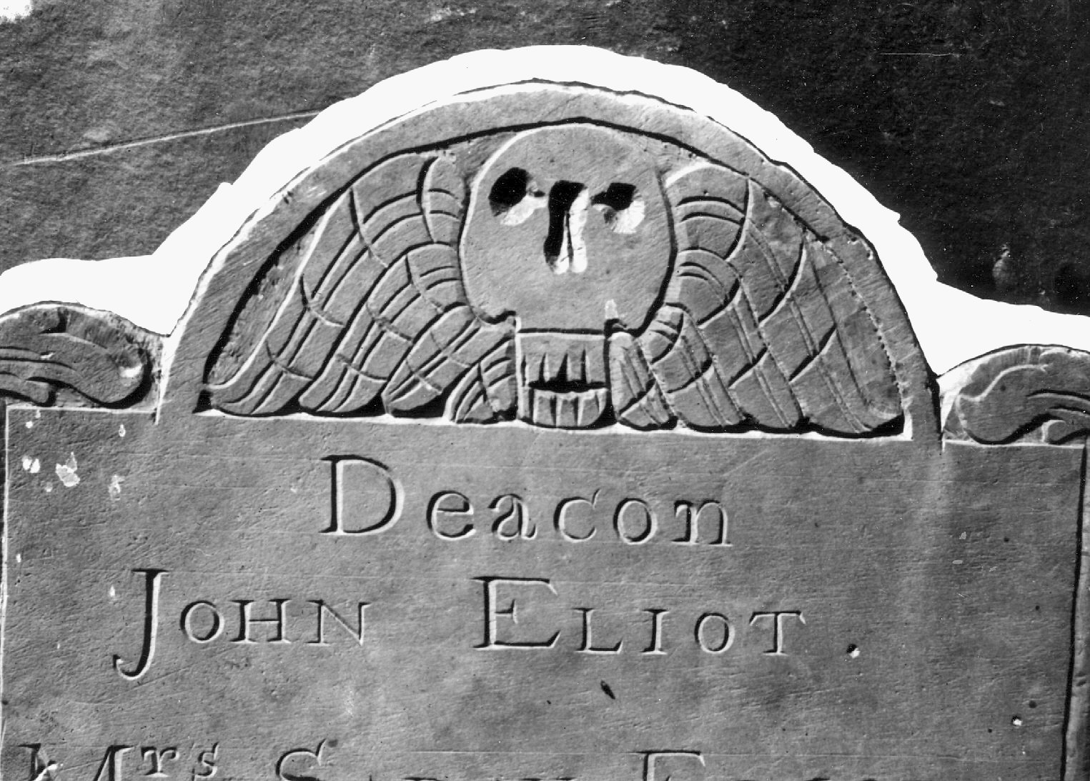 Eliot, Deacon John; Eliot, Sarah; Eliot, Mary