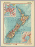 New Zealand. Pergamon World Atlas.