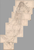 Composite Map: Sect. I-XV + Title/Index Sheet. Atlas of Palestine and the Sinai Peninsula.