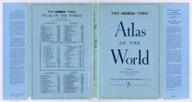 Book Cover: The Times Atlas of the World, Volume 1, Mid-century Edition