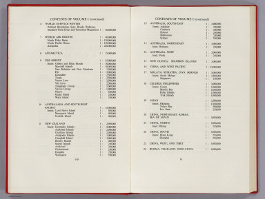 Contents: (Continues) The Times Atlas of the World, Mid-Century Edition, V.1
