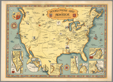 Booklovers Map of America