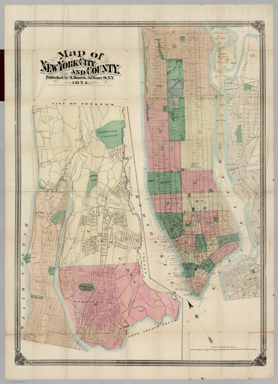 Map Of New York City And County