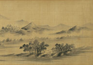 Autumn Landscape in the style of Mi Fu
