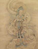 Guan-yin, Attributed to Qiu Ying