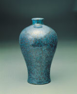 A meiping in robin&#039;s egg glaze