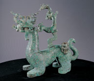 Bronze mythical animal