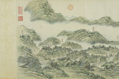 Ten Scenes of the West Lake