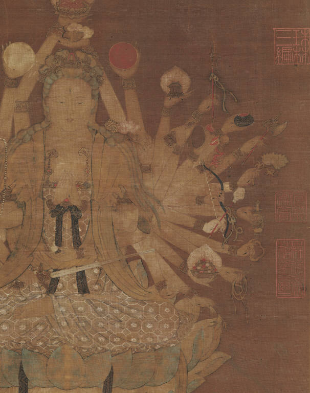 Guan-yin of Great Compassion, Attributed to Fan Qiong