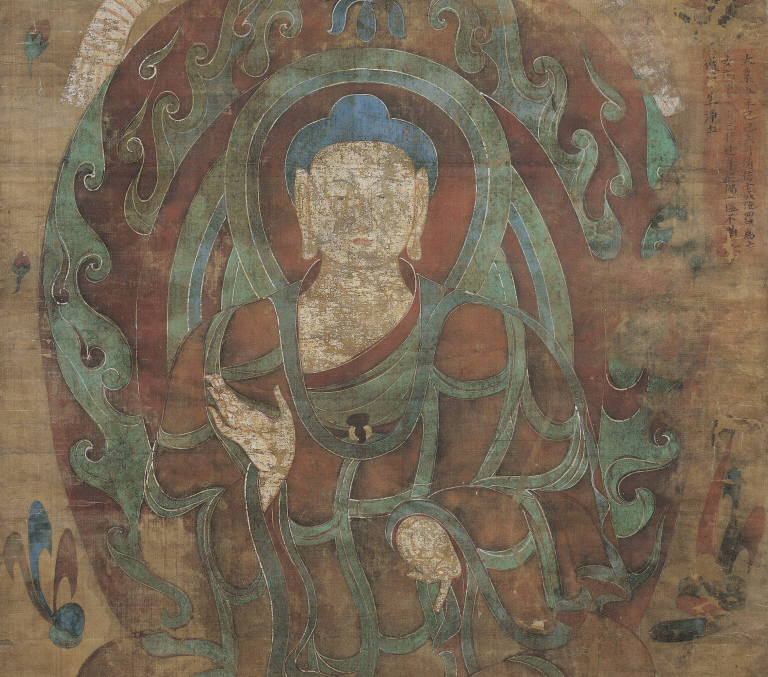Buddha, Attributed to an Anonymous Artist, Sui Dynasty