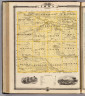 Map of Iowa County, State of Iowa. Chas. Shober & Co., props., Chicago Lith. Co. (Published by the Andreas Atlas Co., Lakeside Building, Chicago, Ills. Engraved & printed by Chas. Shober & Co., Props. of Chicago Lithographing Co.)