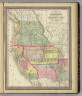 A new map of the state of California, the territories of Oregon & Utah, and the chief part of New Mexico. Entered according to Act of Congress in the year 1853 by Thomas, Cowperthwait & Co. in the ... District Court of the eastern district of Pennsylvania.