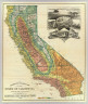 Geographical & climatic map of the state of California compiled from actual surveys and published by the California State Board of Trade. 1888. Lith. H.S. Crocker & Co. S.F.