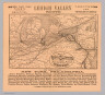 """Map of the popular Lehigh Valley line between Philadelphia and the great north-west. Rand, McNally & Co., Engr's., Chicago. See that your tickets read via the beautiful Lehigh Valley route through the """"Switzerland of America."""" ... (1885)"""