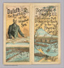 (Covers to) The Northern Pacific R.R. The Yellowstone Park and dining car route to the Pacific Coast. Poole Bros. Printers and Engravers, Chicago.