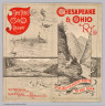 (Covers to) Chesapeake & Ohio Ry. The grand scenic route to the sea. Matthews-Northrup, Buffalo, N.Y.