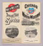 (Covers to) Chicago and North-Western Line through train service. Union Pacific, the overland route ... December, 1892.