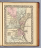 Plan of Milwaukee. Entered ... 1879 by S. Augustus Mitchell ... Washington. (1880)