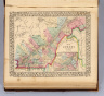 Map of Quebec in counties. (with) Environs of Montreal. Entered ... 1870 by S. Augustus Mitchell, Jr. ... Pennsylvania.