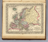 Map of Europe, showing its gt. political divisions. Constructed & engraved by W. Williams, Phila. Entered ... 1867 by S. Augustus Mitchell, Jr. ... Pennsylvania. (1870)