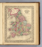County map of England and Wales. Entered ... 1870 by S. Augustus Mitchell, Jr. ... Pennsylvania.