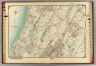 Double Page 3. (Atlas of the rural country district north of New York City embracing the entire Westchester County, New York, also a portion of Connecticut ... Published by E. Belcher Hyde, 1908)