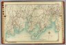 Double Page 5. (Atlas of the rural country district north of New York City embracing the entire Westchester County, New York, also a portion of Connecticut ... Published by E. Belcher Hyde, 1908)