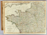 A new map of the north-west part of France, divided into its departments, with the most frequented routes to Paris. Published 24th July, 1802 by Laurie & Whittle, No. 53 Fleet Street, London. Successors to the late Mr. Sayer.
