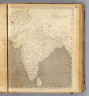 Hindoostan. From Arrowsmith's map of Asia. Ruld. by Hooker. Scoles sculp. (Published by John Conrad & Co., Philadelphia. 1804)