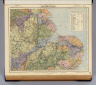 Watershed map of England & Wales. No. 4. Letts's popular atlas. Letts, Son & Co. Limited, London. (1883)