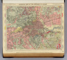 Geological map of the environs of London. Letts's popular atlas. Letts, Son & Co. Limited, London. (1883)