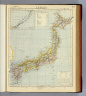 Japan. (with) Kurile Islands. Letts's popular atlas. Letts, Son & Co. Limited, London. (1883)