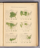 Production per capita of the principal crops: 1900. 1. Corn ... 2. Wheat ... 3. Oats ... 4. Barley ... (all) bushels per capita. 5. Cotton ... 6. Tobacco ... (both) pounds per capita. (Prepared under the supervision of Henry Gannett, Geographer of the Twelfth Census. United States Census Office, 1903). Julius Bien & Co., N.Y.