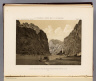 Black Canon of the Colorado River, from Mirror Bar. 1871. U.S. Geographical Surveys West of the 100th Meridian. (1889)