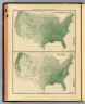 Spring and summer rainfall ... Annual rainfall. By Henry Gannett. Copyright, 1883, by Charles Scribner's Sons.