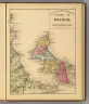 County of Prince, Prince Edward Island. (Drawn on the Rectangular polyconic projection. Drawn and published by Roe Brothers, (A.D. & W.B. Roe). Eng. by Worley & Bracher, Philada. Printed by F. Bourquin, Philada. 1878)