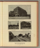 Scenes in and around Boise, Idaho. The Boise City National Bank Building. A great lumber mill. View in the wholesale district. Entrance to Ponca Park, on Boise Interurban Line. (Published by Ellis A. Davis. Berkeley, Cal. Seattle. 1909)