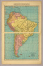 Rand-McNally & Co.'s New 14 x 21 Map of South America. Copyright 1913 by Rand-McNally & Co. Copyright 1895 by Rand-McNally & Co.