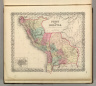 Peru and Bolivia. No. 60. Entered according to the Act of Congress in the year 1855 by J.H. Colton & Co. in the Clerk's Office of the District Court of the United States for the Southern District of New York.