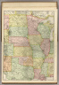 Rand, McNally & Co.'s New Commercial Map, Chicago to Denver.