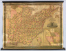 Mitchell's Reference & Distance Map of the United States by J.H. Young. Published by S. Augustus Mitchell. Philadelphia: For Sale By S. Augustus Mitchell N.E. corner of Market & Seventh Streets, 1846. Engraved by P.H. Young, F. Dankworth, E. Yeager & E.F. Woodward. Entered ... 1833 by S. Augustus Mitchell ... Pennsylvania. (with) A New Map Of Texas Oregon And California With The Regions Adjoining ... Published by S. Augustus Mitchell ... 1846. (with) 7 inset maps.