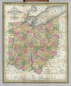 The Tourist's Pocket Map Of The State Of Ohio Exhibiting Its Internal Improvements Roads Distances &c. By J.H. Young. Philadelphia: Published By Thomas, Cowperthwait & Co. 1851. Sold by Thomas, Cowperthwait & Co. No. 253 Market Street. Entered ... April 15th 1831 by S. Augustus Mitchell ... Pennsylvania. (inset) Profile of the Ohio and Erie Canal. (inset) Profile of the Miami Canal.