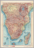 Africa - South. (inset) Sao Tome and Principe Islands. (inset) Mascarene Islands. (inset) Madagascar. Pergamon World Atlas. Pergamon Press, Ltd. & P.W.N. Poland 1967. Sluzba Topograficzna W.P.