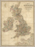 Map Of The Superficial Geology Of The British Isles, With The Physical And Topographical Features, The Line Of Railways, their Primary and Intermediate Stations, The General Internal Communication Of The Countries, and the Steam Packet Routes, with the Distance from Port to Port. Compiled from Ordnance Surveys, and other Authentic information, By James Wyld, Geographer to the Queen, Charing Cross East. London. Published by Jas. Wyld, Geographer To The Queen & H.R.H. Prince Albert, Charing Cross East. (inset) Shetland Islands.