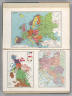 Europe. 7426. Central Europe at Outbreak of World War II - Sept. 1939. 1389. 1939 Language Map of Europe.