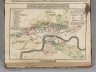 General Plan for Explaining the different Trusts of the Turnpike Gates in the Vicinity of the Metropolis. Published by J. Cary, July 1st. 1790.